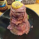 限定10食のローストビーフ丼!札幌ホヌのランチは旨い肉しか出てきません