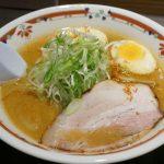 The札幌味噌ラーメン!狼スープはすみれ系味噌の代表格!@中島公園